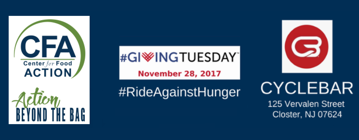 Center For Food Actions Rideagainsthunger On Givingtuesday