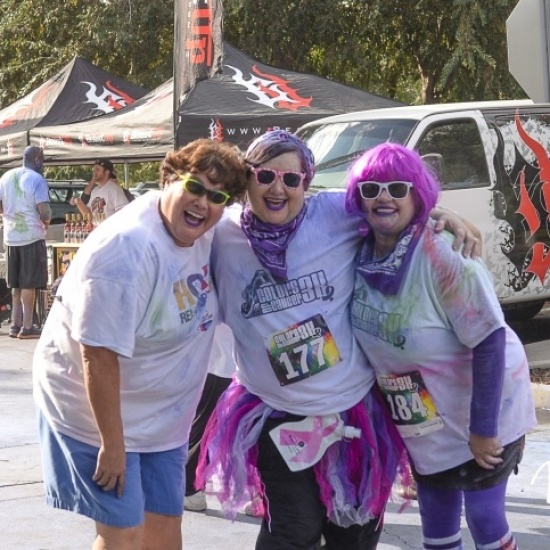 Colors of Cancer – 3K Color Run/Walk Photo