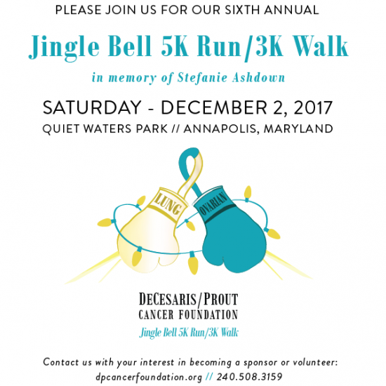 6th Annual DeCesaris/Prout Cancer Foundation Jingle Bell 5k Run/3k Walk Photo