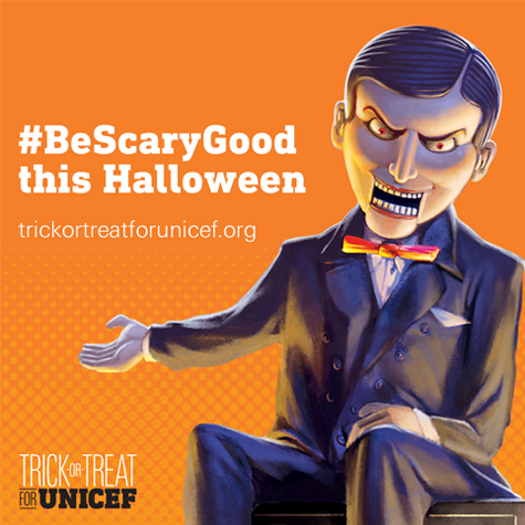 Trick-or-Treat for UNICEF Photo
