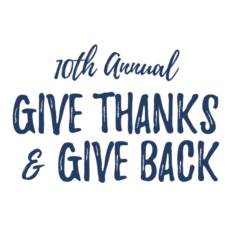 Give Thanks & Give Back 2017 Photo