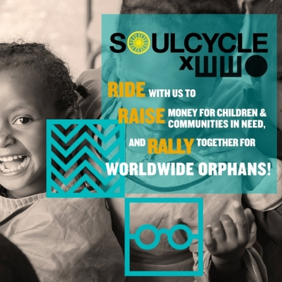 WWO x SoulCycle Fundraiser Challenge Photo