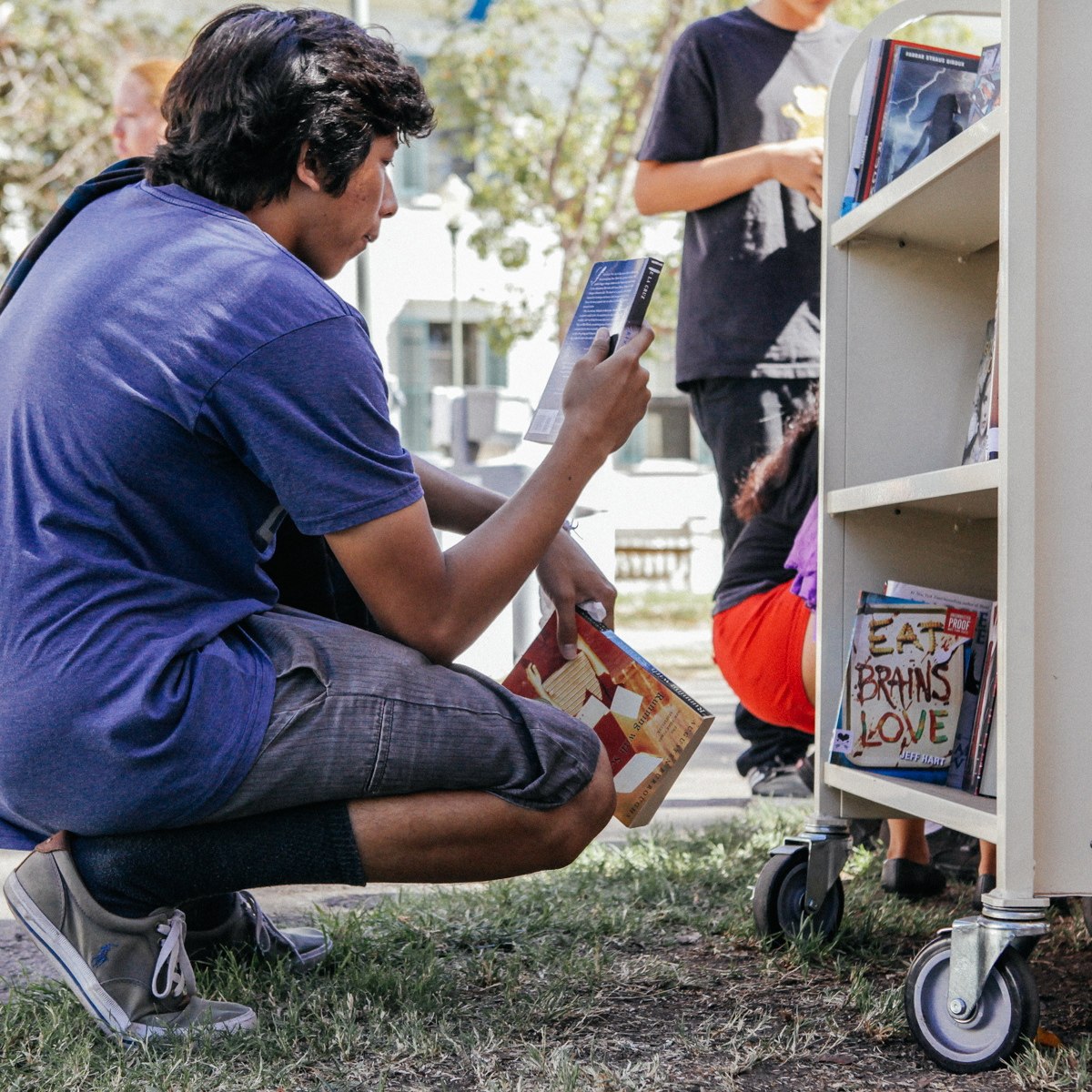 Book Truck READ-A-THON 2017 Photo