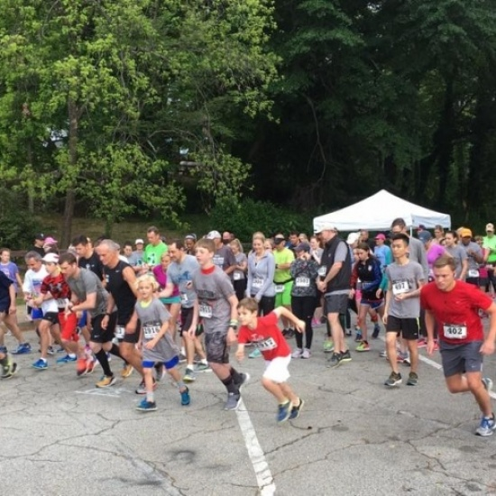 Chastain Chase 5K 2018