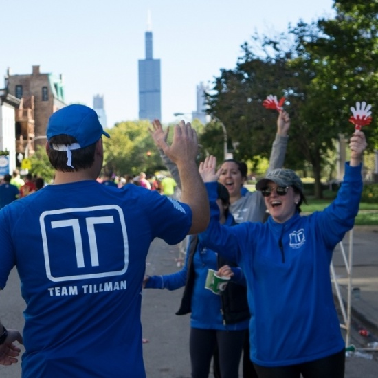 Team Tillman: 2018 Chicago Marathon Photo