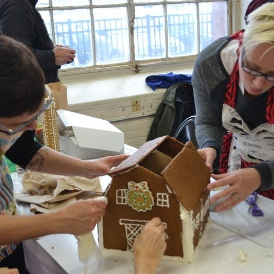 Habitat Gingerbread Build 2017 Photo