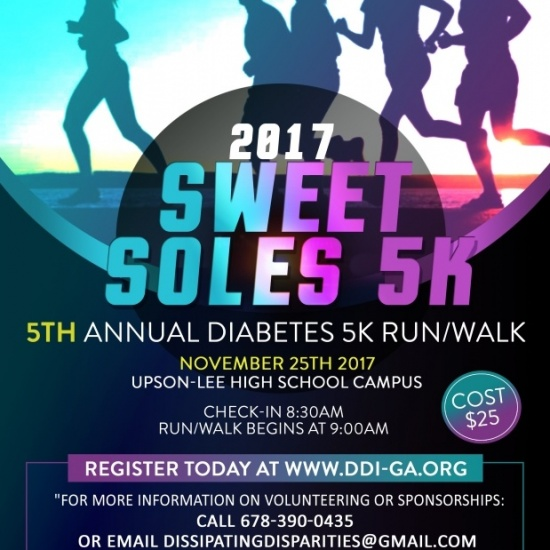 Join the Fight Against Diabetes - DDI's Sweet Soles 5K Photo