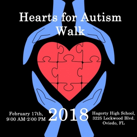 2018 HEARTS FOR AUTISM WALK Photo