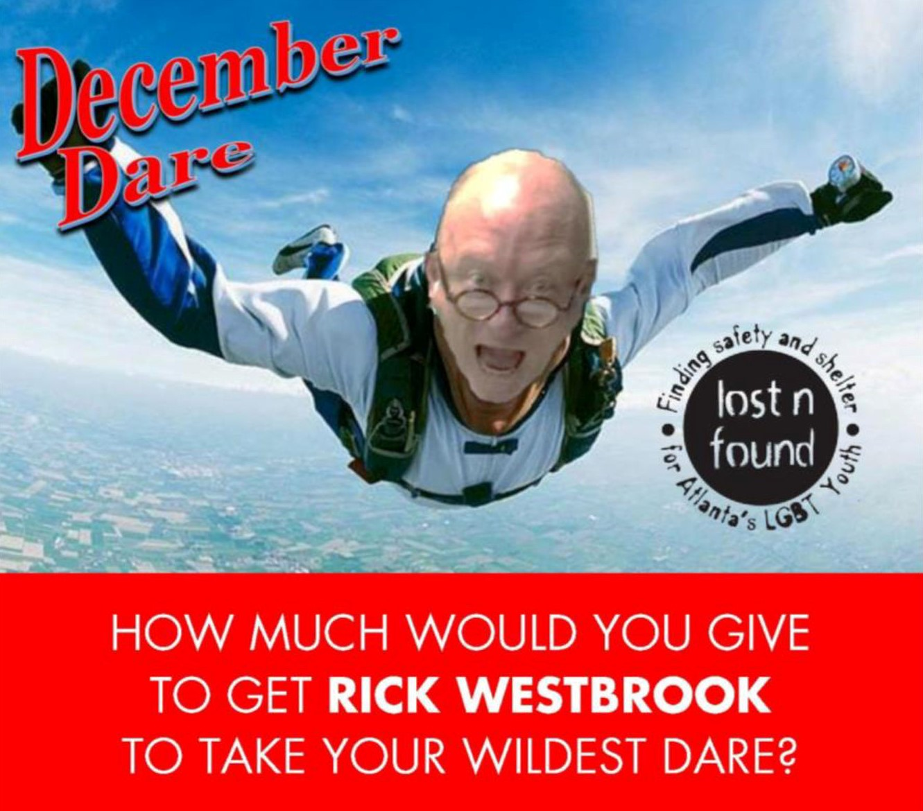 December Dare for Lost-n-Found Youth Photo