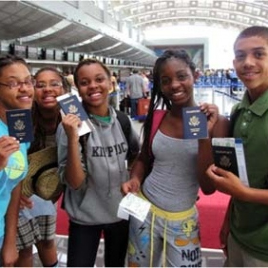 LEARNING AFAR HOLIDAY CHALLENGE: 150 PASSPORTS, HUNDREDS OF LIVES CHANGED FOREVER Photo