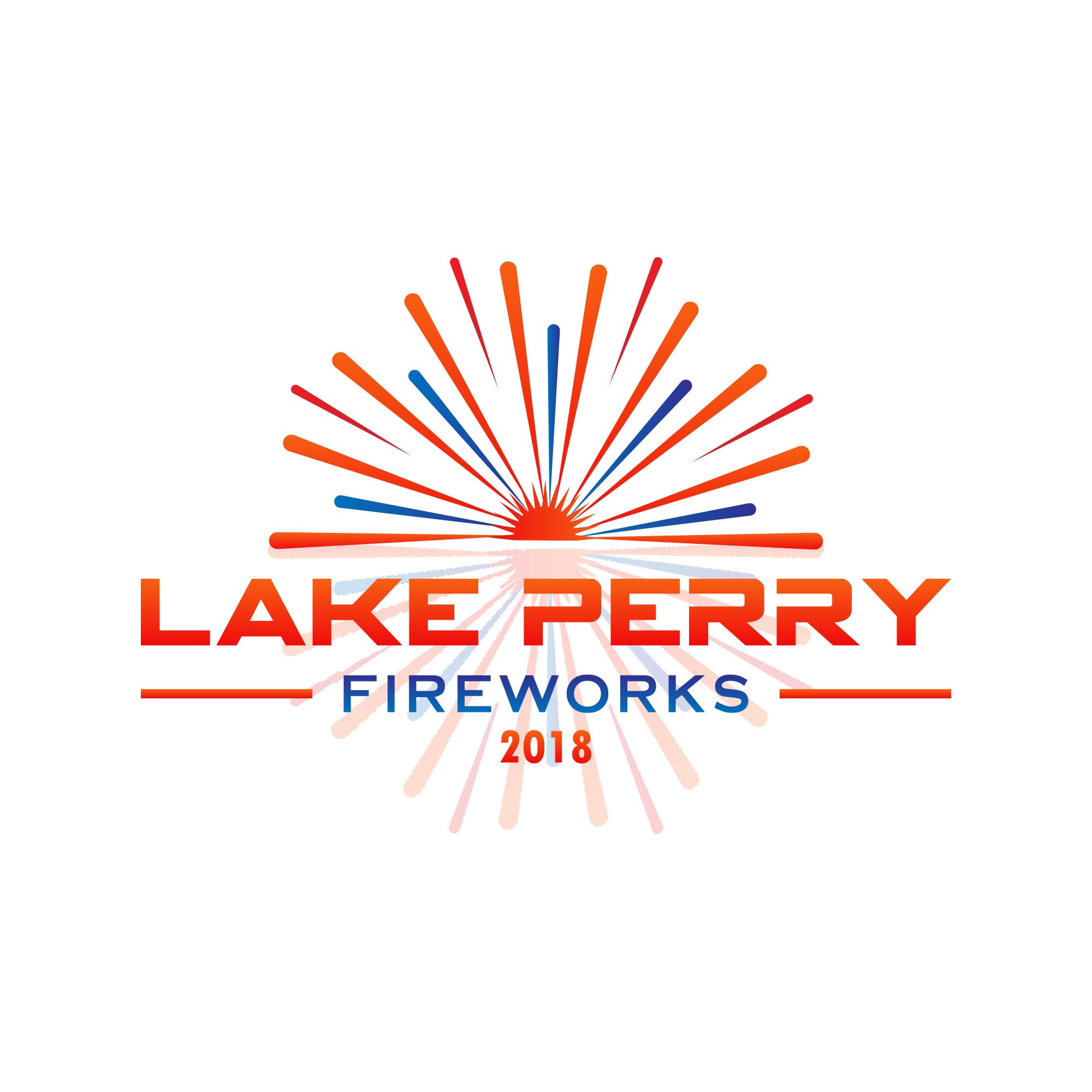 Lake Perry 4th of July Fireworks Spectacular Photo