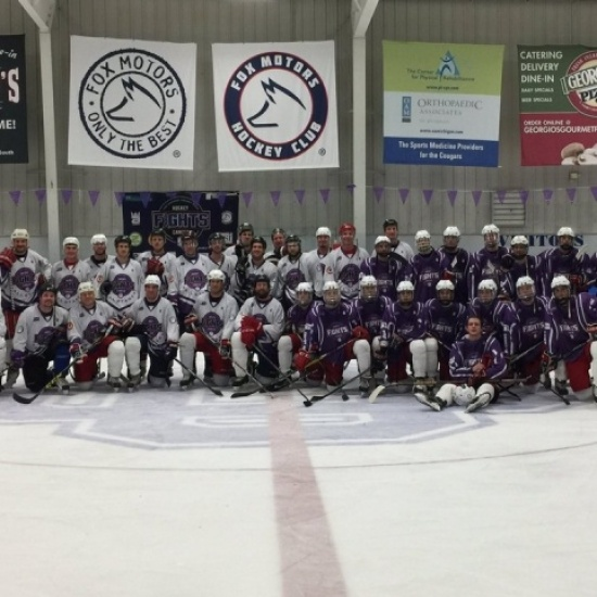 Southside Ice Arena Hockey Fights Cancer 2018 Photo