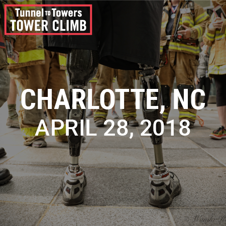 Tunnel to Towers Tower Climb Charlotte 2018 Photo
