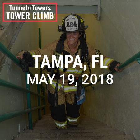 Tunnel to Towers Tower Climb Tampa 2018 Photo