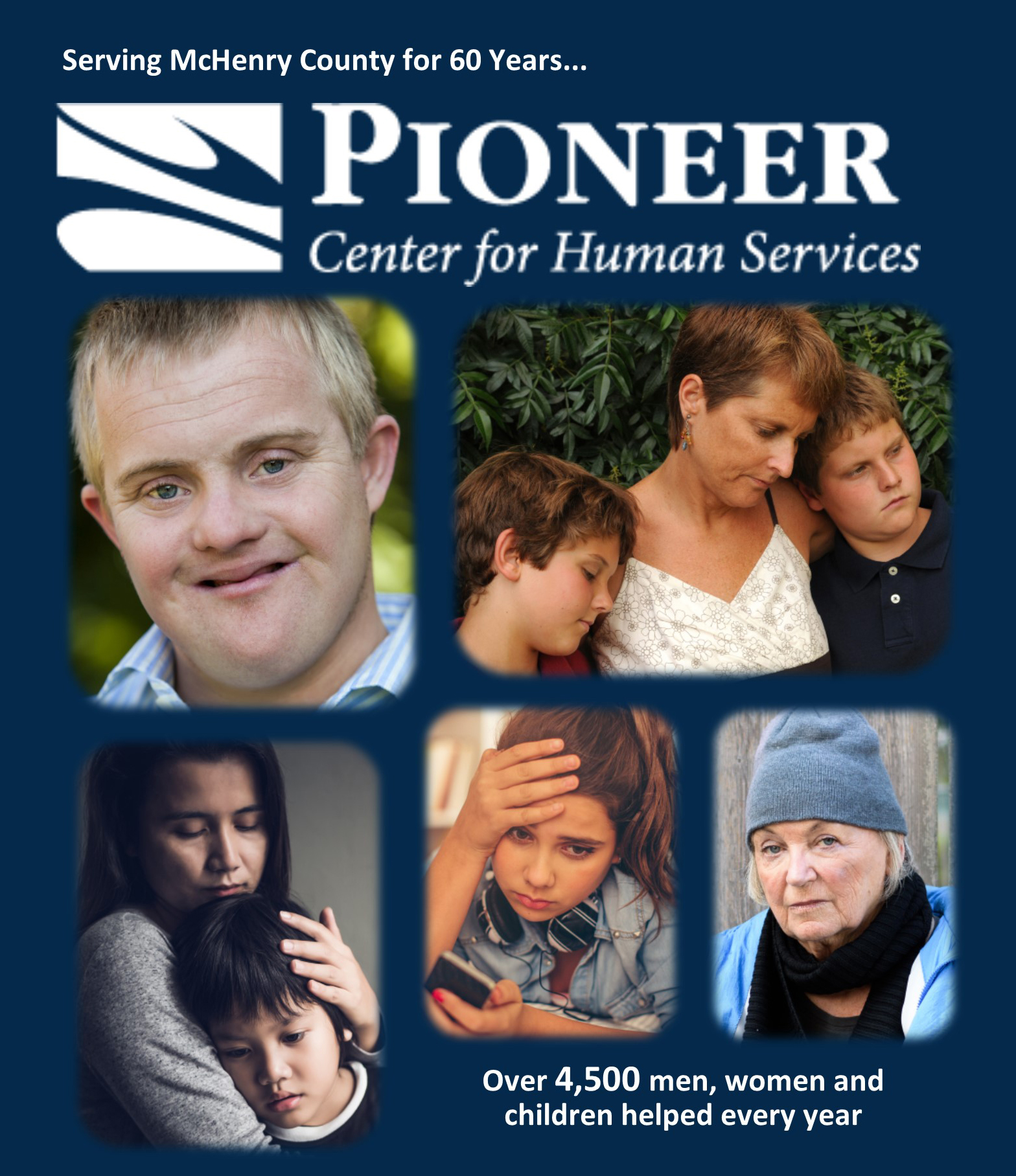 PIONEER CENTER FOR HUMAN SERVICES