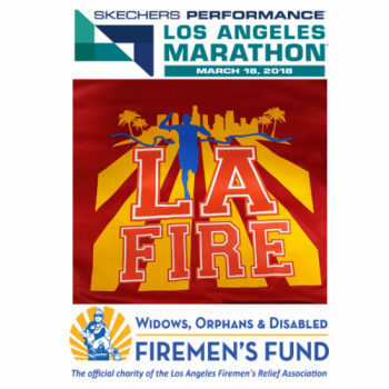 Running for a great charity! Widows Orphans and Disabled Firemens Fund!