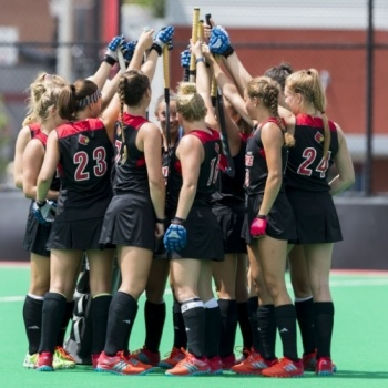 University of Louisville Field Hockey Breast Cancer Awareness Game