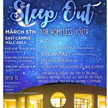 Second Annual Valencia SleepOut