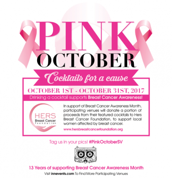 Pink October - Cocktails for a cause