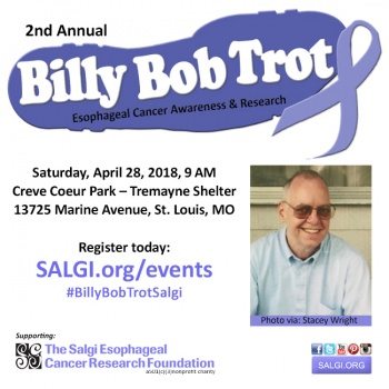 2nd Annual Billy Bob Trot- Esophageal Cancer Awareness and Research