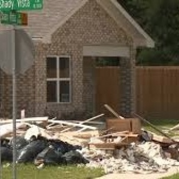 help our home was destroyed by harvey