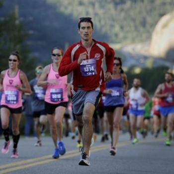 The Georgetown to Idaho Springs Half Marathon