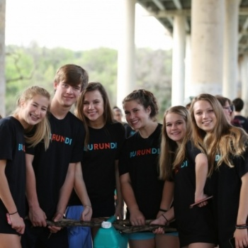 Austin High School Walk for the Water