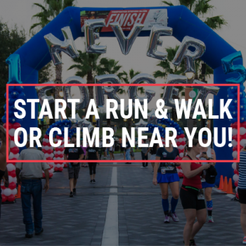 Start a Run & Walk or Climb Near You