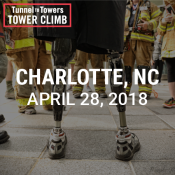 Tunnel to Towers Tower Climb Charlotte 2018