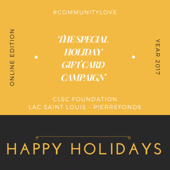 The Special Holiday Gift Card Campaign